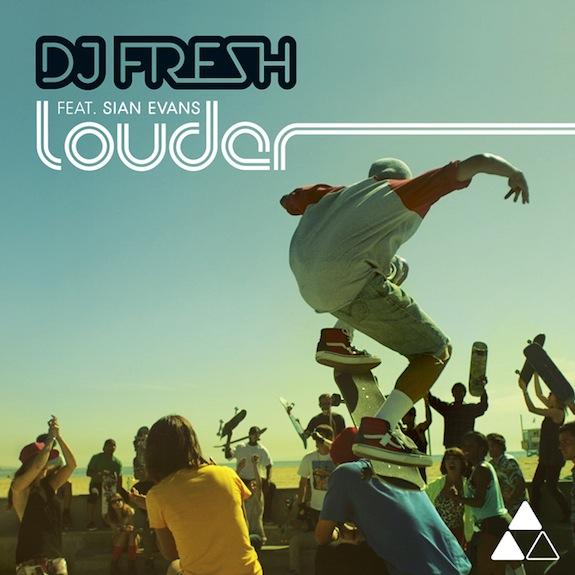DJ Fresh ft. Sian Evans – Louder (Hardwell Remix)
