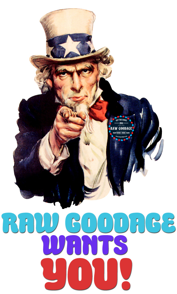 Raw Goodage Wants YOU! – Writer Applications