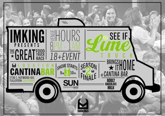 EVENT: The Lime Truck Season Finale Party – Fullerton