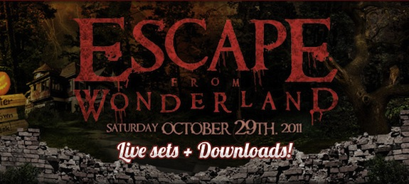 Thomas Gold Live @ Escape From Wonderland – 2011