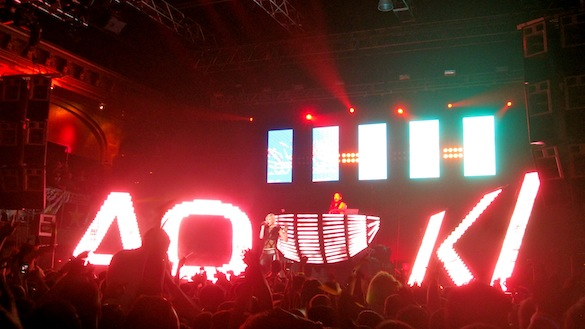 REVIEW: Steve Aoki & Dim Mak's Deadmeat Tour @ Roseland Ballroom – 2/17/2012