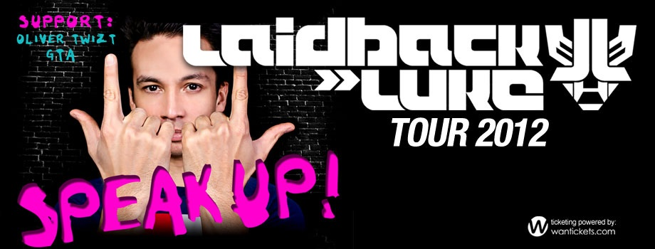 Laidback Luke's Speak Up Tour and Release