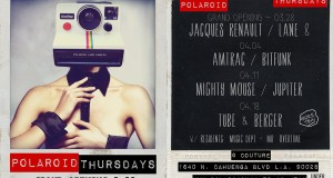 Event Introduction: Polaroid Thursdays @ Couture