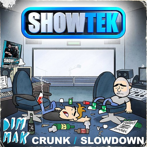 Showtek &#8211; Slow Down (Original Mix)