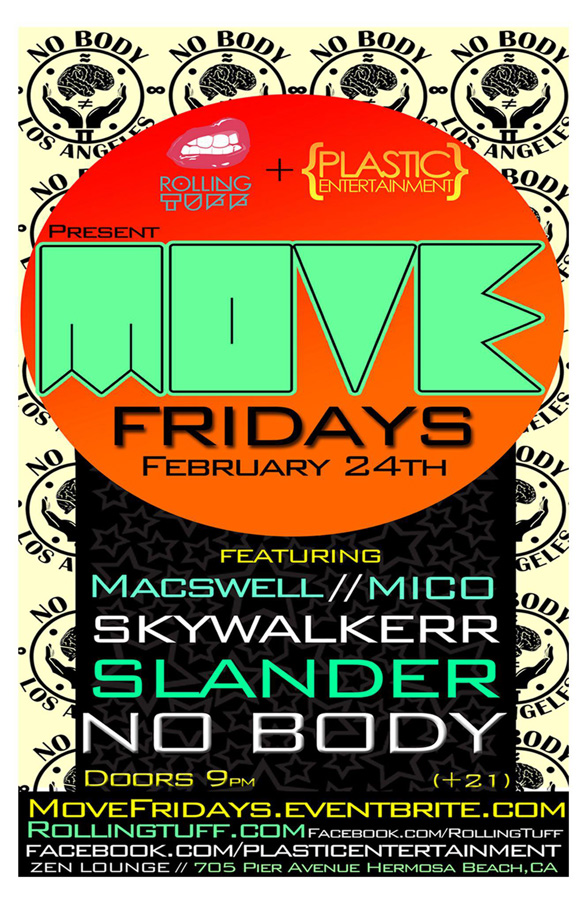 GIVEAWAY: MOVE Fridays with No Body – 2/24/12